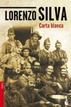 carta blanca lorenzo silva 9788423346622
