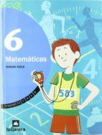 matematicas 6º educacion primaria proyeto tren-9788424609122