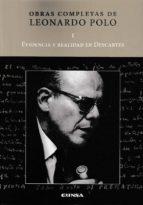 El libro de Evidencia y realidad en descartes autor LEONARDO POLO EPUB!