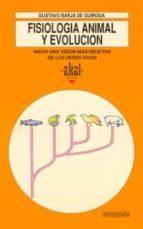 fisiologia animal y evolucion-gustavo barja-9788446002222