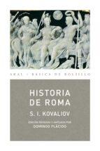 historia de roma serguei ivanovich kovaliov 9788446028222