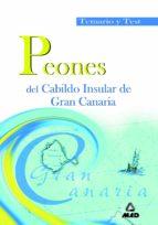 peones del cabildo insular de gran canaria: temario y test-9788466514422