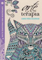 arte terapia: libro para colorear: usa tu creatividad para desestresarte (lila) 9788466655422