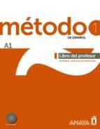metodo 1 de español:libro del profesor a1 9788467830422