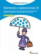 numeros y operaciones 13 9788468013022