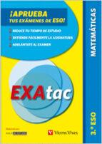 exatac 3º eso (matematicas) 9788468204222