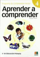 aprender a comprender nº 4 eduardo vidal abarca gomez 9788472782822