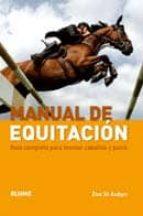 (pe) manual de equitacion zoe st. aubyn 9788480767422