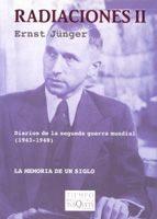 radiaciones,t.ii:diarios de la senguda guerra mundial (1943-1948) la memoria de un siglo-ernst junger-9788483104422