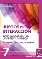 motivacion, confianza, sinceridad: juegos de interaccion para ado lescentes, jovenes y adultos klaus w. vopel 9788483160022