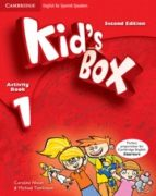 kid s box 1 for spanish speakers activity book with cd rom and language portfolio 2nd edition 9788483238622