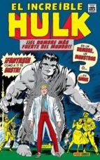 el increible hulk 1: es un hombre, un monstruo stan lee jack kirby 9788491671022