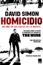 homicidio: un año en las calles de la muerte david simon 9788493831622