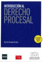 introduccion al derecho procesal-vicente gimeno sendra-9788494276422