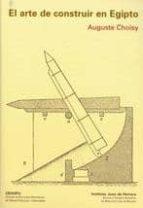 el arte de construir en egipto auguste choisy 9788497282222
