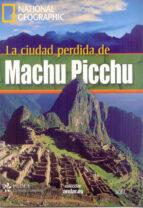 national geographic la ciudad machu picchu (incluye dvd)-9788497785822