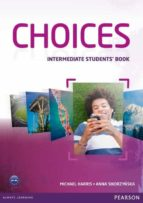 choices intermediate student´s book harris sikorzynska 9781408242032