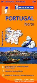 mapa regional portugal norte (2013) 9782067184732