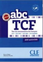 Abc tcf + livret + cd audio ne Descargar ebooks gratis por isbn