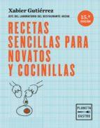 recetas sencillas para novatos y cocinillas (ebook)-xabier gutierrez-9788408166832