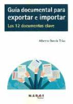 guia documental para exportar e importar-alberto garcia trius-9788416171132