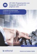 programación con lenguajes de guión en páginas web. ifcd0110 (ebook)-antonio luis cardador cabello-9788416351732