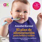 el plan de alimentacion para bebes y niños: 200 recetas rapidas, nutritivas y apetitosas annabel karmel 9788416965632