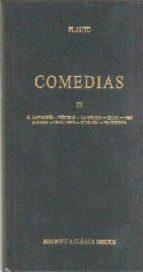 comedias (t. iii): el cartagines; pseudolo; la maroma; estico; tr es monedas; truculento; vidularia; fragmentos-tito maccio plauto-9788424923532