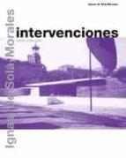 intervenciones-ignasi de sola-morales-9788425220432