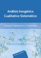 analisis inorganico cualitativo sistematico 9788429170832
