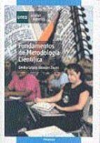 fundamentos de metodologia cientifica (24101)-emilio lopez-barajas zayas-9788436223132
