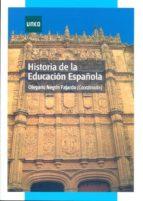 historia de la educacion española-olegario negrin fajardo-9788436263732