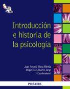 introduccion  e historia de la psicologia-juan antonio mora merida-9788436824032