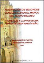 la adquisicion de segundas lenguas-nicolas estevez fuertes-9788437090832