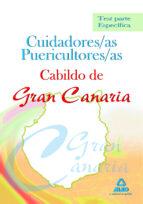 cuidadores/as puericultores/as del cabildo de gran canaria-9788467639032