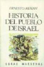 historia del pueblo de israel (2 vols.)-ernesto renan-9788470822032