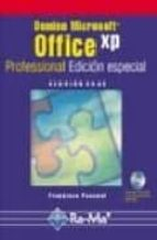 domine microsoft office xp professional francisco pascual gonzalez 9788478974832
