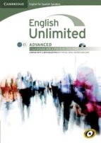 english unlimited for spanish speakers advanced (coursebook with e portfolio) (include dvd rom) jd landis 9788483236932