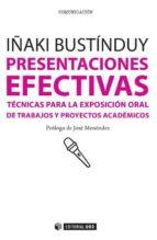 presentaciones efectivas iñaki bustinduy 9788490292532