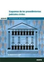 esquemas de los procedimientos judiciales civiles-9788491474432