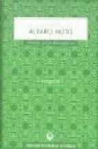 la voz de alvaro mutis (incluye cd rom) alvaro mutis 9788495078032