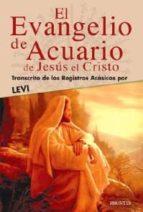 evangelio de acuario de jesus el cristo-9788496975132