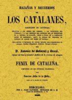 hazañas y recuerdos de los catalanes antonio de bofarull y broca 9788497615532