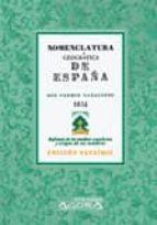 nomenclatura geografica de españa-fermin caballero-9788498624632
