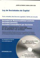 ley de sociedades de capital jose alfredo caballero gea 9788499820132