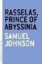 rasselas prince of abyssinia samuel johnson 9781933633442
