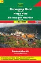 norte de noruega, narvik, mapa de carreteras (1:400000) (freytag & berndt) 9783707904642