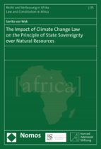 the impact of climate change law on the principle of state sovereignty over natural resources (ebook)-sanita van wyk-9783845285542