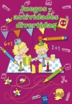 juegos y actividades divertidas: rosa (de 4 a 6 años) 9788408084242