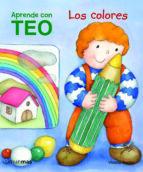 aprende con teo: los colores-violeta denou-9788408100942